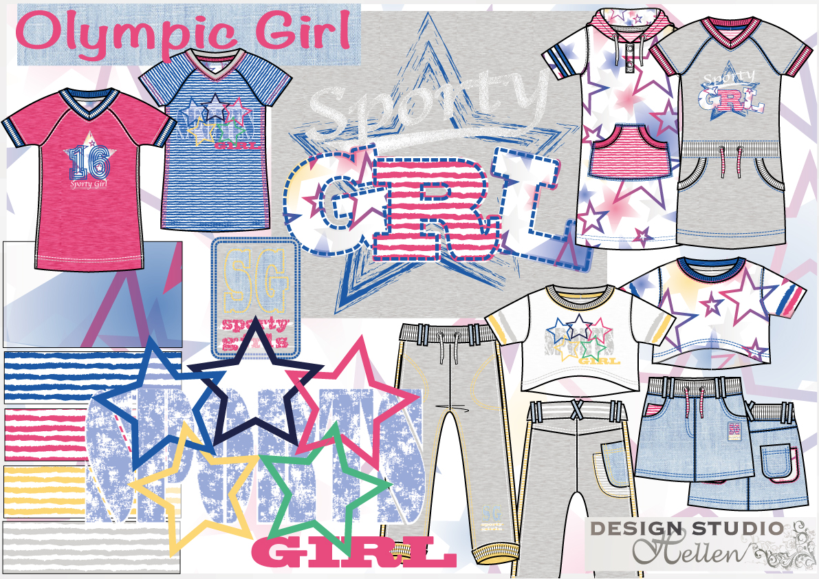 theme olympic girl